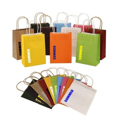 Natural Kraft Paper Shopping Bag