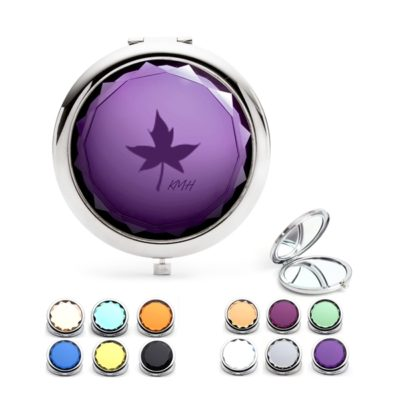 Crystal Cosmetic Foldable Mirror