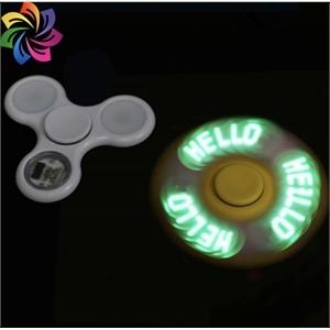 LED glow fidget spinner