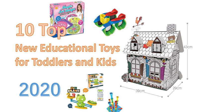 10 Top New Educational Toys for Toddlers and Kids 2020
